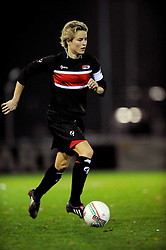 12-11-2009 VOETBAL: FC UTRECHT -AZ VROUWEN: UTRECHT<br /> Utrecht verliest met 1-0 van AZ / Daphne Koster<br /> ©2009-WWW.FOTOHOOGENDOORN.NL