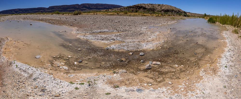 Terlingua Creek, Terlingua Abajo
