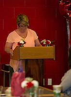 LHS Top Ten senior dinner at the Huot Center.  Karen Bobotas for the Laconia Daily Sun
