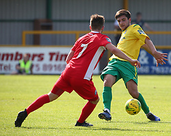 August 28, 2017 - London, United Kingdom - Joe Christou of Thurrock FC.during Bostik League Premier Division match between Thurrock vs Billericay Town at  Ship Lane Ground, Aveley on 28 August 2017  (Credit Image: © Kieran Galvin/NurPhoto via ZUMA Press)