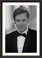 Shaun Evans collectable musuem Quality limited edition archival framed Photograph A2+Mount & frame <br /> Pictured on set of Endeavour, Oxford<br /> Photo : Jack Ludlam