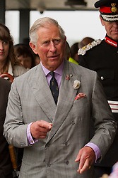 © Licensed to London News Pictures. 02/07/2012. Camborne, UK. Prince Charles, The Duke of Cornwall at Heartlands. The Duke and Duchess of Cornwall are on a three day tour of Cornwall and the Isles of Scilly. Photo credit : Ashley Hugo/LNP