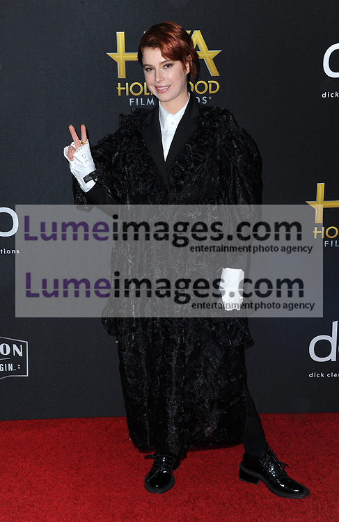 Jessie Buckley at the 23rd Annual Hollywood Film Awards held at the Beverly Hilton Hotel in Beverly Hills, USA on November 3, 2019.