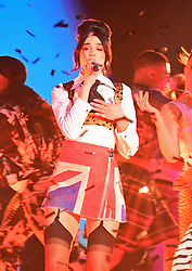 Dua Lipa performs during the Brit Awards 2021 at the O2 Arena, London. Picture date: Tuesday May 11, 2021.