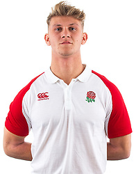Alfie Johnson of England Rugby 7s - Mandatory by-line: Robbie Stephenson/JMP - 17/09/2019 - RUGBY - The Lansbury - London, England - England Rugby 7s Headshots