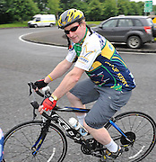 7-7-2012: 7.30am and Taoiseach Enda Kenny leads over 10,000 cyclists out of Killarney on the annual Ring of Kerry charity cycle on Saturday. The route of 120 miles takes in the towns of Killorglin, Cahersiveen, Waterville, Sneem, Kenmare and finishes back in Killarney..Picture by Don MacMonagle