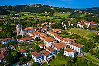 France, Pyrénées-Atlantiques (64), Pays Basque, Sare, labellisé Les Plus Beaux Villages de France // France, Pyrénées-Atlantiques (64), Sare, labeled The Most Beautiful Villages of France