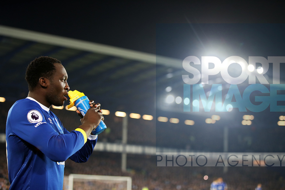 Romelu Lukaku of Everton during the English Premier League match at Goodison Park, Liverpool. Picture date: December 19th, 2016. Photo credit should read: Lynne Cameron/Sportimage