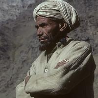 A Muslim village elder from Suru Valley, (Baltistan) India.