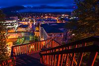 Juneau from Calhoun Avenue Overpass