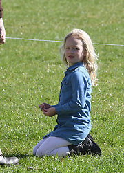 Savannah Phillips attends the Gatcombe Horse Trials at Gatcombe Park in Minchinhampton on March 25, 2017
