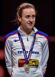 01-03-2018 GBR: World Athletics Indoor, Birmingham<br /> Bij de WK indoor atletiek heeft de Schotse nummer drie Laura Muir het brons gepakt op de 3000 meter
