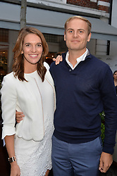 Cara Robinson and Oliver Banks at the Aspall Tennis Classic Players Party hosted by Aspall and Taylor Morris Eyewear at Bluebird, 350 King's Road, Chelsea, London England. 28 June 2017.<br /> Photo by Dominic O'Neill/SilverHub 0203 174 1069/ 07711972644 - Editors@silverhubmedia.com