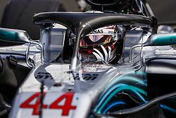 July 29, 2018 - Budapest, Hungary - Motorsports: FIA Formula One World Championship 2018, Grand Prix of Hungary, .#44 Lewis Hamilton (GBR, Mercedes AMG Petronas Motorsport) (Credit Image: © Hoch Zwei via ZUMA Wire)