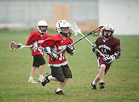 Lakes Region Lacrosse versus Generals U11 boys April 22, 2012.