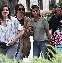 Selena Gomez arrives to proetst in Los Angeles, CA. 24 Mar 2018 Pictured: Selena Gomez arrives to proetst in Los Angeles, CA. Photo credit: MEGA TheMegaAgency.com +1 888 505 6342