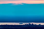 Cruise ship Statendam departing Anchorage.