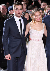 Robert Pattinson and Sienna Miller arriving at the UK Premiere of Lost City of Z, The British Museim, London.