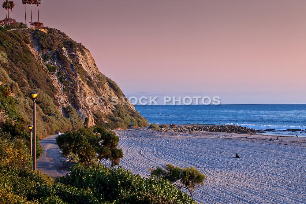 The Salt Creek Beach Orange County California