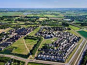 Nederland, Gelderland, Gemeente Zevenaar, 14–05-2020; Groot Holthuizen, nieuwe woonwijk in het oosten van Zevenaar. Autoluwe wijk. Park Het Hof (in wording).<br /> Groot Holthuizen, new residential area in the east of Zevenaar. Low-traffic neighborhood.<br /> luchtfoto (toeslag op standaard tarieven);<br /> aerial photo (additional fee required)<br /> copyright © 2020 foto/photo Siebe Swart
