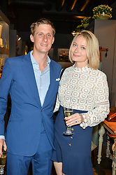 The HON.JAKE ASTOR and his wife VICTORIA ASTOR at a party to celebrate the publication of 'Feeding The Future' by Lohralee Astor and Tali Shine held at OKA, 155-167 Fulham Road, London on 8th June 2016.