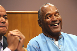 Jul 20, 2017 - Lovelock, Nevada, U.S. - O.J. SIMPSON attends a parole hearing at Lovelock Correctional Center. Simpson is serving a nine to 33 year prison term for a 2007 armed robbery and kidnapping conviction. (Credit Image: © Jason Bean-POOL via ZUMA Wire)