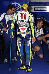 17.07.2010, Sachsenring, GER, MotoGP, Deutschland Grand Prix 2010, im Bild  Valentino Rossi - Fiat Yamaha team. EXPA Pictures © 2010, PhotoCredit: EXPA/ InsideFoto/ Semedia +++ ATTENTION - FOR AUSTRIA AND SLOVENIA CLIENT ONLY +++ / SPORTIDA PHOTO AGENCY