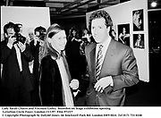 Lady Sarah Chatto and Viscount Linley. Snowdon on Stage exhibition opening. Lyttelton Circle Foyer. London.13/1/97. Film 971f17<br />