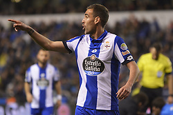 March 2, 2017 - La Coruna, Spain - Navarro. La Liga Santander Matchday 25. Riazor Stadium, La Coruna, Spain. March 02, 2017. (Credit Image: © Monica Arcay Carro/VW Pics via ZUMA Wire/ZUMAPRESS.com)