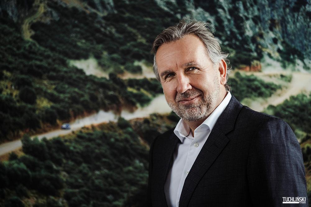Wieden, Austria; 21.01.2019r. Michal Solowow - przzedsiębiorca, biznesmen, kierowca rajdowy.<br /> Fot. Adam Tuchlinski dla Forbes