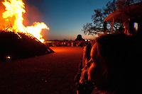 Valborg / Walpurgis Night celebrations at Skansen