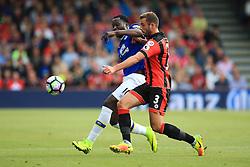 Steve Cook of Bournemouth tackles Romelu Lukaku of Everton - Mandatory by-line: Jason Brown/JMP - 24/09/2016 - FOOTBALL - Vitality Stadium - Bournemouth, England - AFC Bournemouth v Everton - Premier League