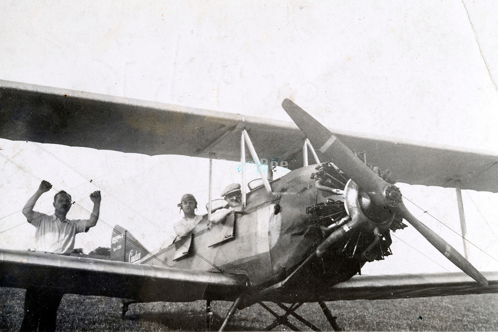 people with airplane 1936