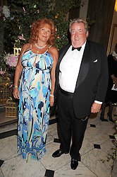 SIR WILLIAM & LADY MCALPINE at the Royal Academy of Art's Summer Ball held at Burlington House, Piccadilly, London on 16th June 2008.<br /><br />NON EXCLUSIVE - WORLD RIGHTS