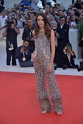75th Venice Film Festival - Vox Lux Red Carpet Arrivals - Natalie Portman. 04 Sep 2018 Pictured: Stacy Martin. Photo credit: KILPIN / MEGA TheMegaAgency.com +1 888 505 6342