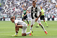 Paulo Dybala Juventus Mario Mandzukic Juventus <br /> Torino 16-09-2018 Allianz Stadium Football Calcio Serie A 2018/2019 Juventus - Sassuolo <br /> Foto Andrea Staccioli / Insidefoto