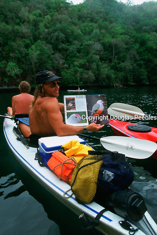 Kayaking Rock Islands, Palau, Micronesia, (editorial use only- no model release)<br />