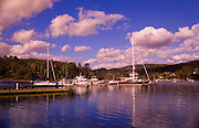 Image of boats in Southwest Harbor on Mount Desert Island in Maine, American Northeast by Randy Wells