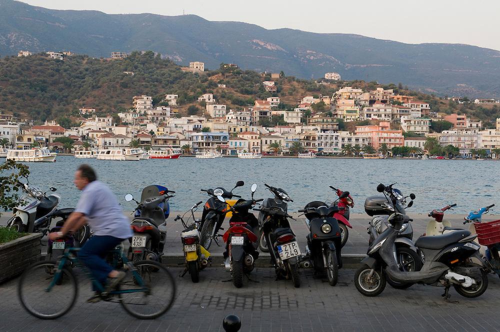 Poros, Greece, Sept 3, 2011.