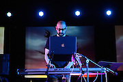 Clint Mansell performs his first live show in New York City at the Church of St. Paul the Apostle. 3 April 2013. Copyright © 2013 Chris Owyoung.