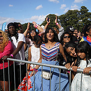 London, UK, 21th August 2016 : Thousands attends the Mauritian culture celebrate the Mauritian Open Air Festival 2016 at Gunnersbury Park. Performances  Alain Ramanisum, Linzy Bacbotte , Nitish Joganah  live with speacial guests Miss England 2016 Elizabeth Grant and Miss Sussex Victoria Smart fantastic food and craft stalls in London,UK. © See Li/PictureCapital