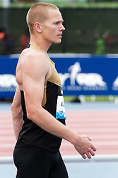 Samsung Diamond League adidas Grand Prix track & field; men's high jump, Jesse Williams concentrates before attempt
