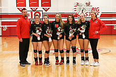 10/16/18 BHS Volleyball Senior Night