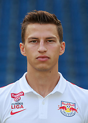 15.07.2015, Red Bull Arena, Salzburg, AUT, 1. FBL, FC Red Bull Salzburg, Fototermin, im Bild Stefan Lainer (FC Red Bull Salzburg) // during the official Team and Portrait Photoshoot of Austrian Bundesliga Club FC Red Bull Salzburg at the Red Bull Arena in Salzburg, Austria on 2015/07/15. EXPA Pictures © 2015, PhotoCredit: EXPA/ JFK