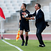 istanbul BBSK's head coach Carlos Carvalhal during their Turkish Superleague soccer match istanbul BBSK between Orduspor at the Ataturk Olympic stadium in Istanbul Turkey on Sunday 23 September 2012. Photo by TURKPIX