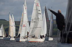 Largs Regatta Festival 2018<br /> <br /> Day 1- CYCA Class 3, Start, Sigma 33, IRL16010, Busy Beaver<br /> <br /> Images: Marc Turner