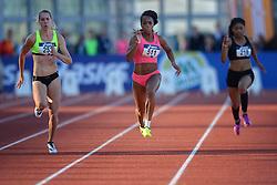 31-07-2015 NED: Asics NK Atletiek, Amsterdam<br /> Nk outdoor atletiek in het Olympische stadion Amsterdam /   Marit Dopheide #253, Jamile Samuel #511
