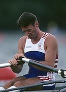 Atlanta, USA. 1996 Olympic Rowing Regatta Lake Lanier, Georgia [Mandatory Credit Peter Spurrier/ Intersport Images]