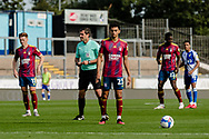 Ipswich Town midfielder Andre Dozzell (23) about to take a free kick during the EFL Sky Bet League 1 match between Bristol Rovers and Ipswich Town at the Memorial Stadium, Bristol, England on 19 September 2020.