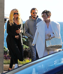 Kris Jenner and Scott Disick and Khloé Kardashian Film Keeping Up with the Kardashians . 12 Feb 2018 Pictured: Kris Jenner and Scott Disick and Khloé Kardashian. Photo credit: MEGA TheMegaAgency.com +1 888 505 6342